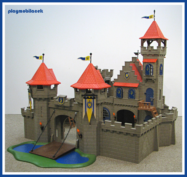 Playmobil 3268 velk kr lovsk hrad bez pos dky for Plan chateau fort playmobil